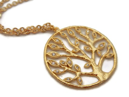 Jewelry with meaning why you should wear the tree of life for What is the meaning of the tree of life jewelry